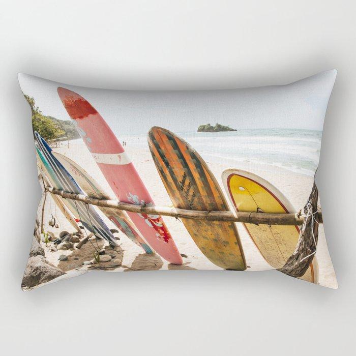 Surfing Day 2 Rectangular Pillow