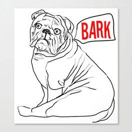 Bark Canvas Print