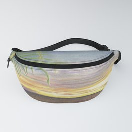 Beautiful Sunset at the Beach Fanny Pack