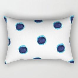 Happy Blues Rectangular Pillow