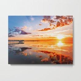 Outer Banks Sunset #1 Metal Print
