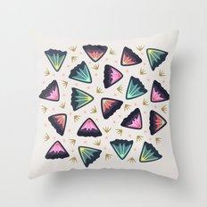 Bold Petals Throw Pillow