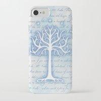 gondor iPhone & iPod Cases featuring Tree of Gondor by JadeJonesArt