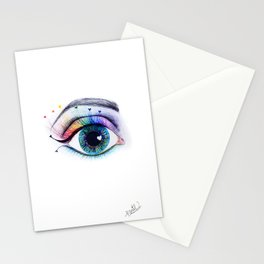 Eye see rainbows Stationery Cards