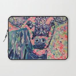 Moo-ve over winter- Cow Laptop Sleeve
