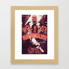 Angel Vs. Vampire Framed Art Print