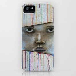 through the colors of life iPhone Case