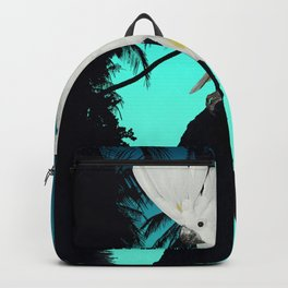 Cockatoo Bird at Sunset A314b Backpack