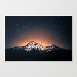 Mountain Space Canvas Print