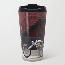 SALT FLATS HARLEY CHOPPER Travel Mug