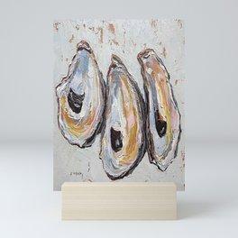 Oyster shells Mini Art Print