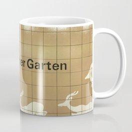 Berlin U-Bahn Memories - Zoologischer Garten Coffee Mug