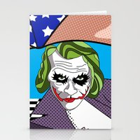 super heroes Stationery Cards featuring super heroes by mark ashkenazi