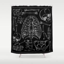 Bones Duschvorhang