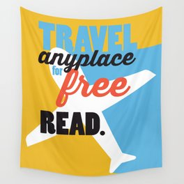 Travel - Just Read Wall Tapestry