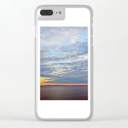 Northumberland Strait at Dusk Clear iPhone Case