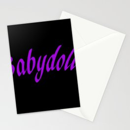 Babydoll Stationery Cards