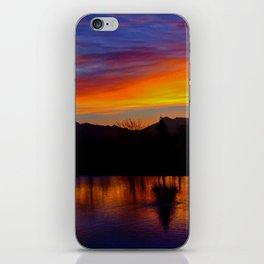 Sunrise at Rose Canyon iPhone Skin