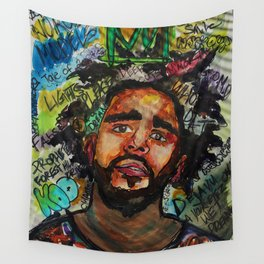 Rap,hiphop,lyric poster,shirt,cool wall art,fan art,music inspired Wall Tapestry