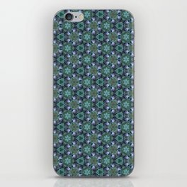 Grey Jay Spruce Tree patterned iPhone Skin