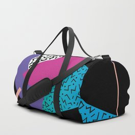 Memphis pattern 39 - 80s / 90s Retro Duffle Bag