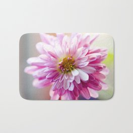 Padre Cerise Belgian Mum Alternate Focus Bath Mat