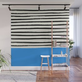 Ocean x Stripes Wall Mural
