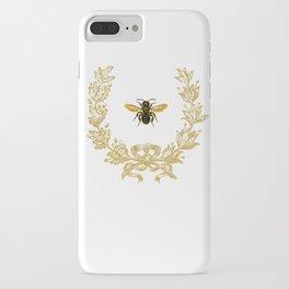 French Bee acorn wreath iPhone Case