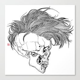 Death is New Punk Canvas Print