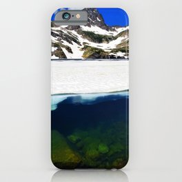 Blue Lake - Indian Peaks iPhone Case
