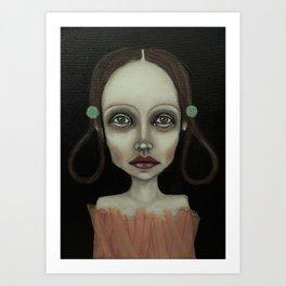 point girl Art Print