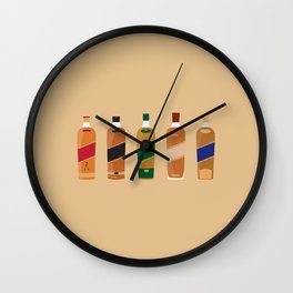 The Johnnie Walker Family Wall Clock