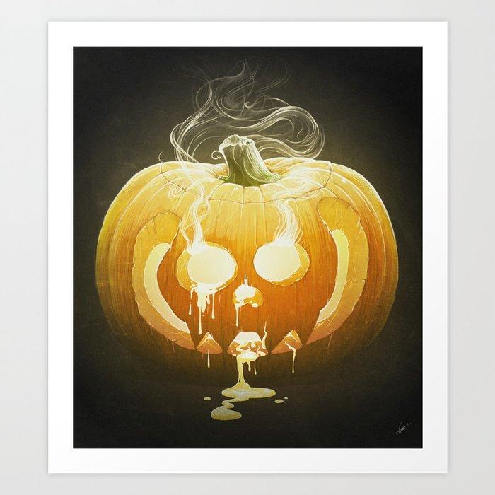 Pumpkin II. Art Print
