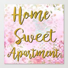 Home Sweet Apartment Canvas Print
