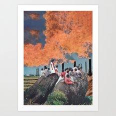 A Violent Sky Art Print