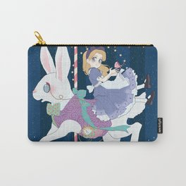 Carousel: World of My Own Carry-All Pouch