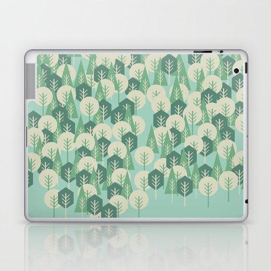 Geometric Woods Laptop & iPad Skin