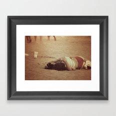 Eres espectáculo Framed Art Print