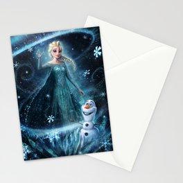 Wanna build a snowman? Stationery Cards