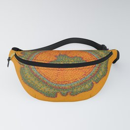 Growing -Taxus - plant cell embroidery Fanny Pack