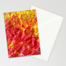 Fire Spiral Stationery Cards