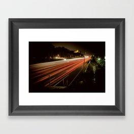 Speed of Light Framed Art Print