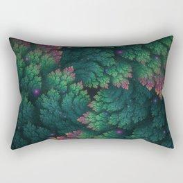 Cosmic Flora Rectangular Pillow
