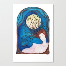 night muse Canvas Print