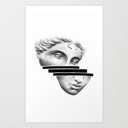 Greek Head Art Print