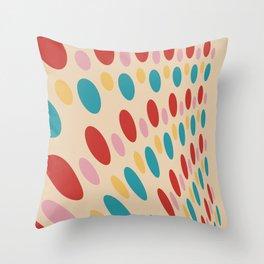 Retro Disco Throw Pillow