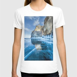 Blue Ice of the Lake Baikal T-shirt