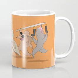 Three Visually Impaired Mice Coffee Mug