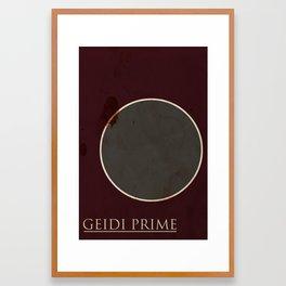Geidi Prime Framed Art Print
