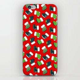 Christmas Boots! iPhone Skin